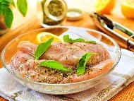 Марината за пилешко / свинско месо с бяло вино, лимон и зехтин